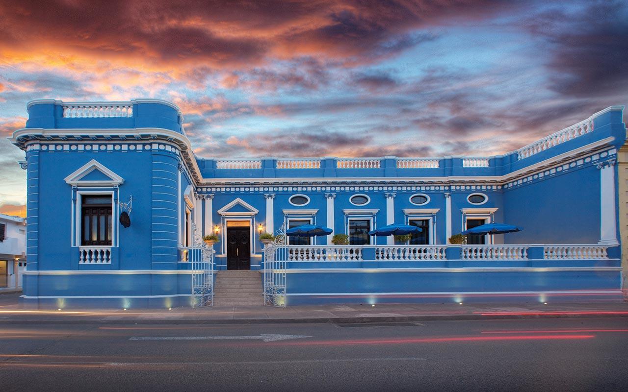Hotel casa azul boutique for Muebles de oficina merida yucatan