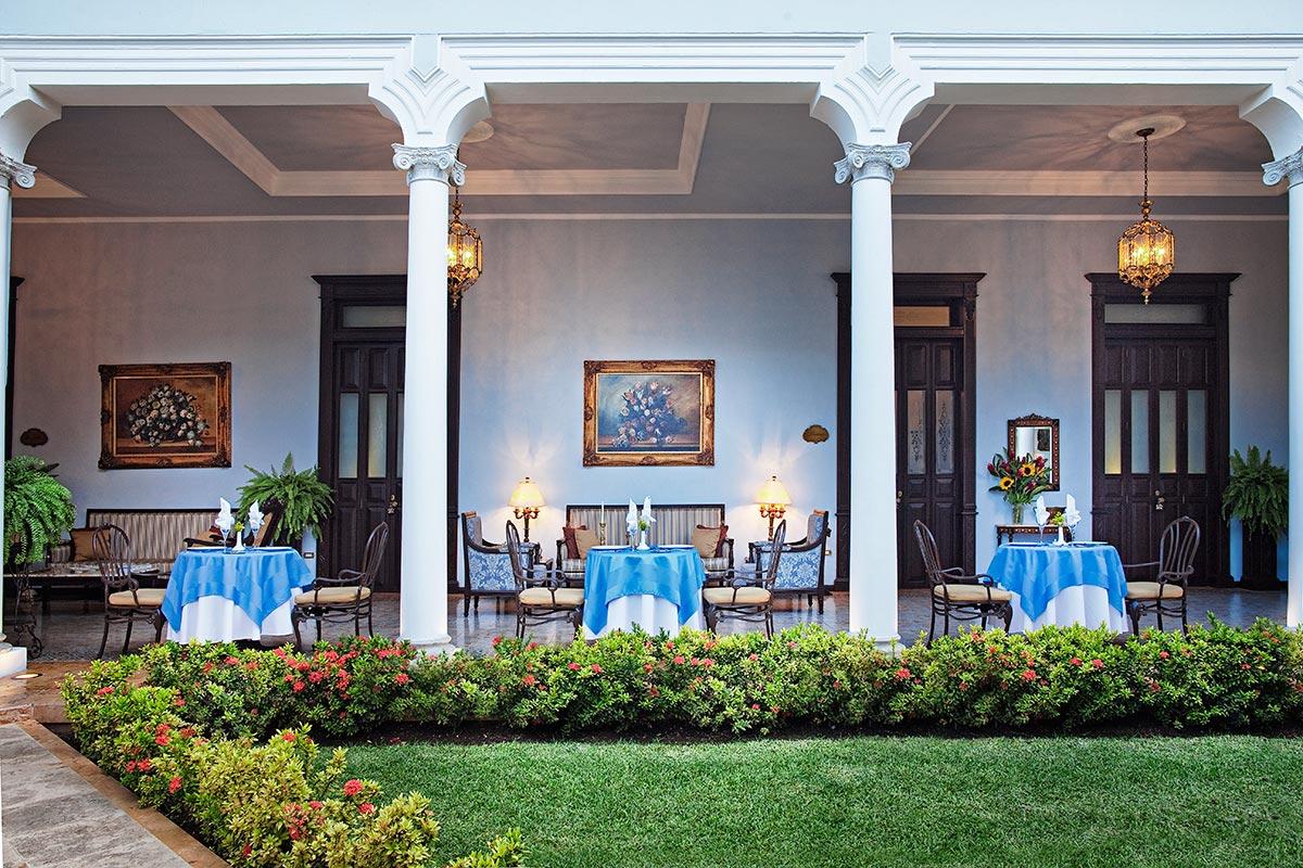 hotel boutique de lujo en el centro de mrida yucatn casa azul